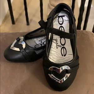 Toddler shoes by Bebe